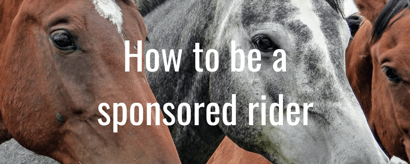 How to be a sponsored rider