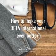 How to make your BETA International even better!