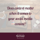 Does context matter on social media?