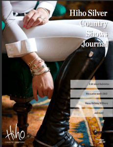 Hiho Silver Country Shows Journal