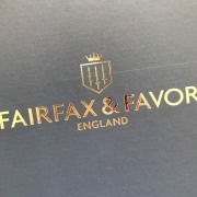 Fairfax & Favor packaging