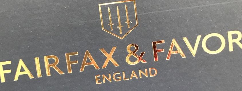 Fairfax & Favor packaging