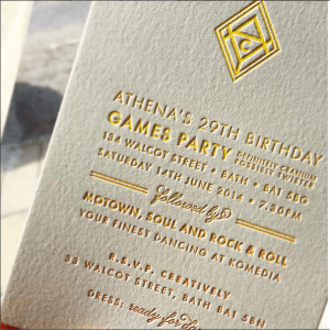 Meticulous Ink Invitation