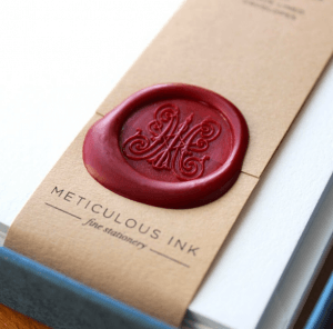 Meticulous Ink Wax Seal