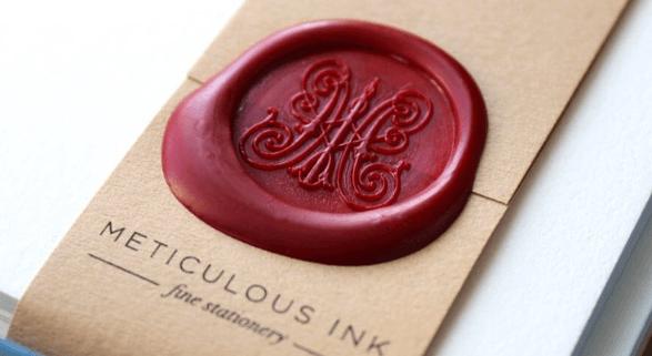 Meticulous Ink Wax Seal