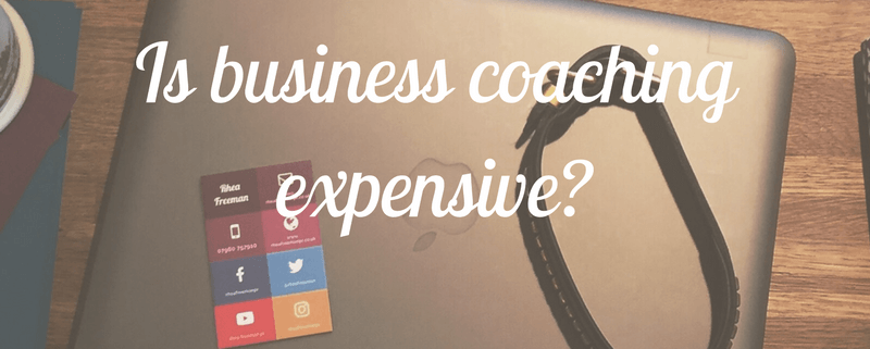 Is business coaching expensive