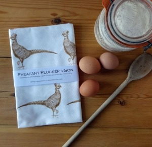 Pheasant Plucker & Son Tea Towel