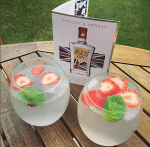 A Girl About Country British Polo Gin