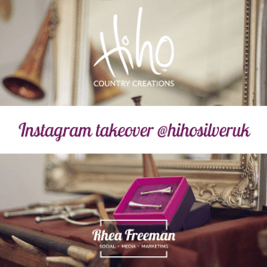 Blenheim horse trials instagram takeover
