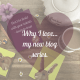 Why I love... my new blog series