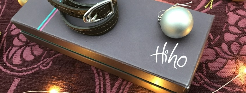 Hiho Silver Double Wrap Leather Bracelet