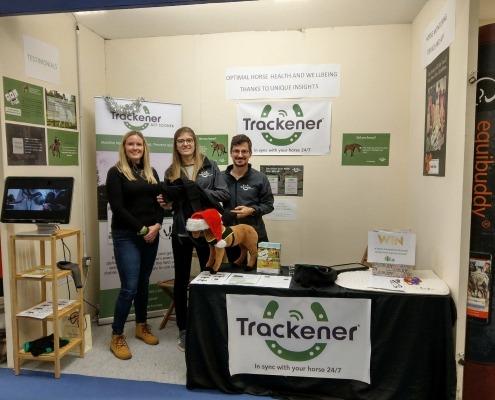 Ruth Box - Trackener - Team at Olympia
