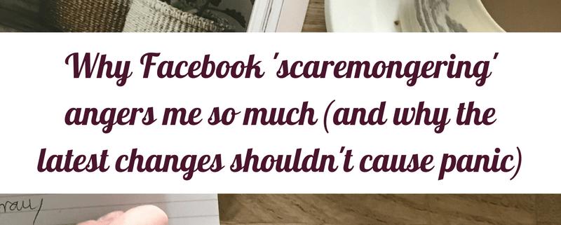 Facebook scaremongering