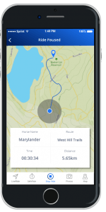 Huufe Mobile App- Ride Screenshot