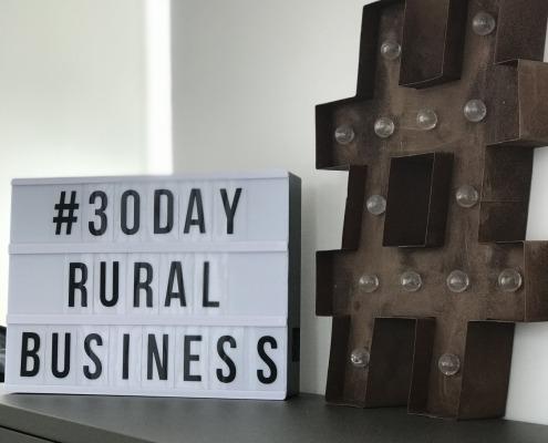 #30dayruralbusiness challenge