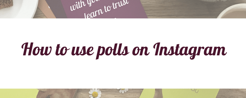 how to use polls on instagram