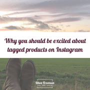 tagged products on Instagram