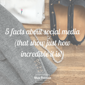 five facts about social media
