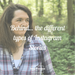 Behind the different types of instagram stories