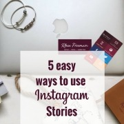 5 easy ways to Instagram Stories