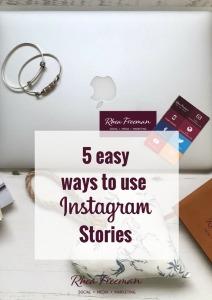 5 easy ways to Instagram Stories