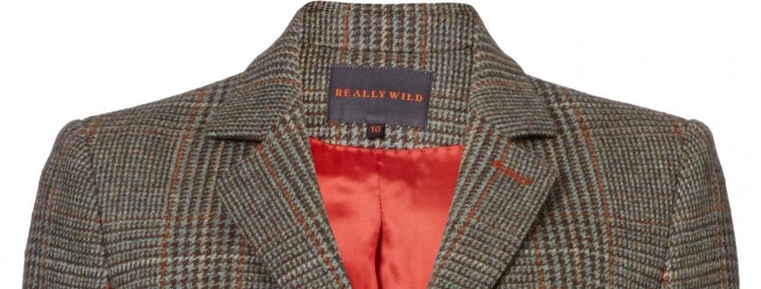 Really Wild Clothing Ledbury Jacket in Glen Lovat Rust copy 2