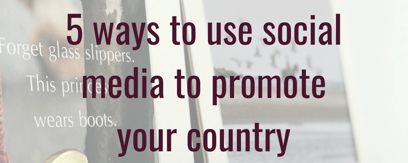 5 ways to use social media to promote your country business