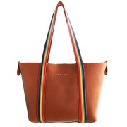 Lavenham Leather Tote - Rainbow Edition - Annabel Brocks
