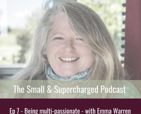 Emma Warren - being multipassionate