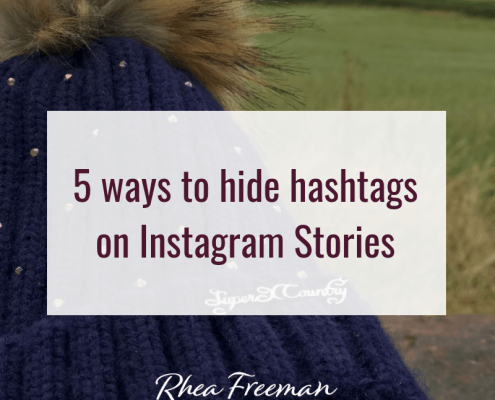 5 ways to hide hashtags on Instagram Stories