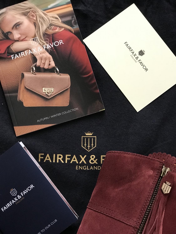 Fairfax and favor oxblood reginas