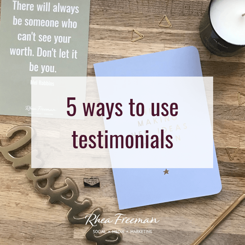 5 ways to use testimonials