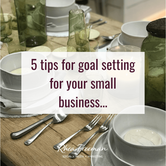 goal setting for your small business