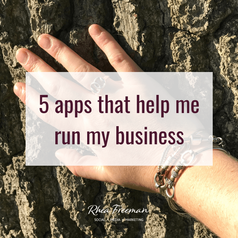 5 apps that help me run my business
